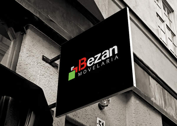 Bezan Movelaria - Logo - Interage Design