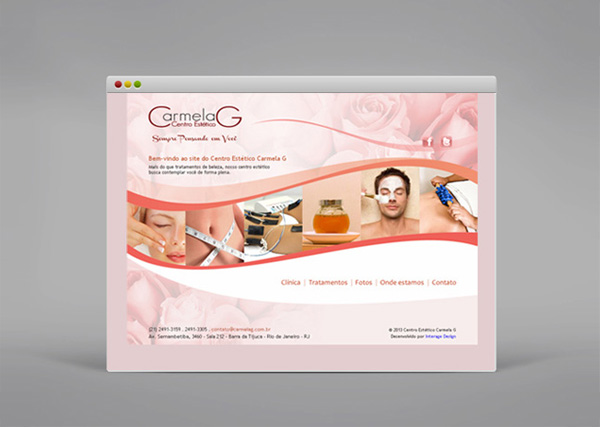 Carmela G - Site - Interage Design