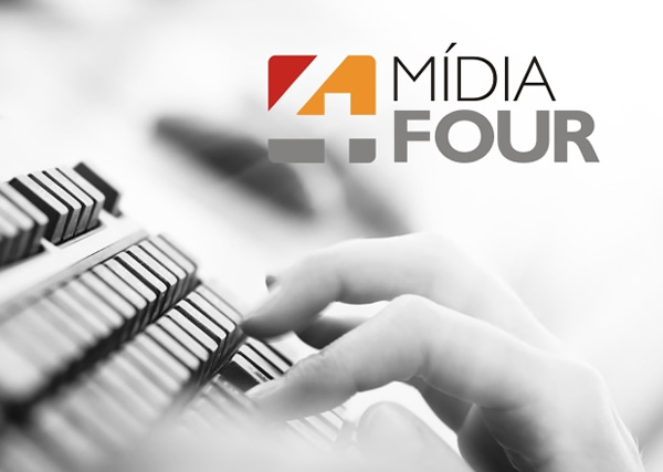 Mídia Four - Logo - Interage Design